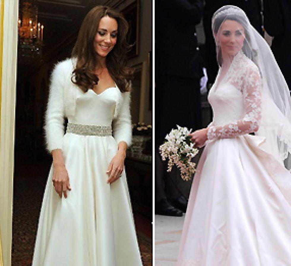 Segundo vestido de novia de kate middleton
