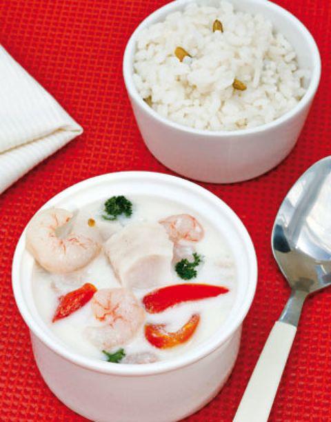 Food, Cuisine, Steamed rice, Ingredient, White rice, Rice, Dish, Dishware, Jasmine rice, Recipe,