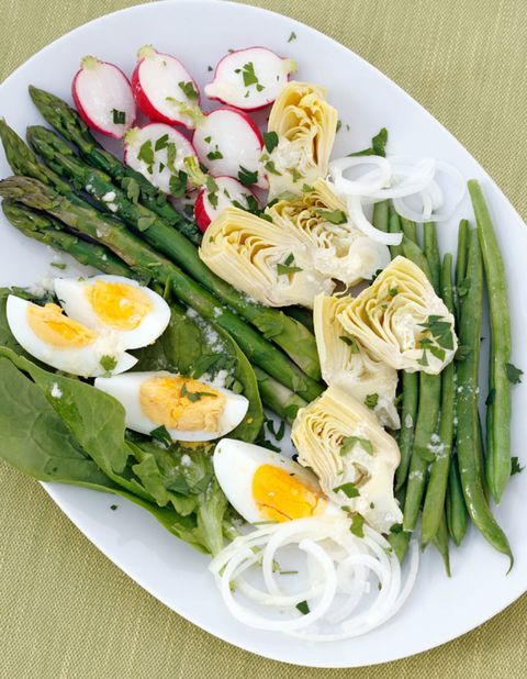 Food, Cuisine, Ingredient, Dish, Egg yolk, Dishware, Breakfast, Finger food, Vegetable, Egg,