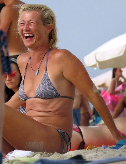 Brassiere, Fun, Swimwear, Bikini, Photograph, Chest, Swimsuit top, Undergarment, Summer, Swimsuit bottom,