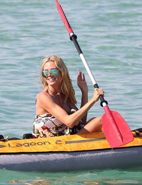 Eyewear, Recreation, Kayaking, Kayak, Canoeing, Outdoor recreation, Boating, Watercraft, Boat, Sports,