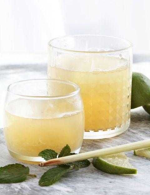 Liquid, Fluid, Yellow, Drink, Drinkware, Tableware, Ingredient, Alcoholic beverage, Juice, Serveware,