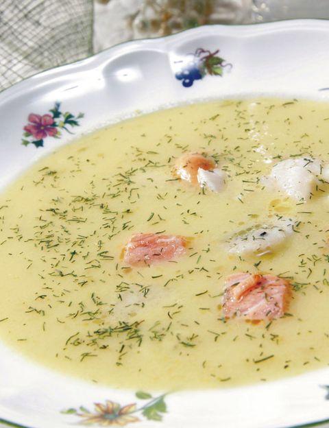 Dishware, Food, Serveware, Porcelain, Dish, Cuisine, Recipe, Soup, Garnish, Ceramic,
