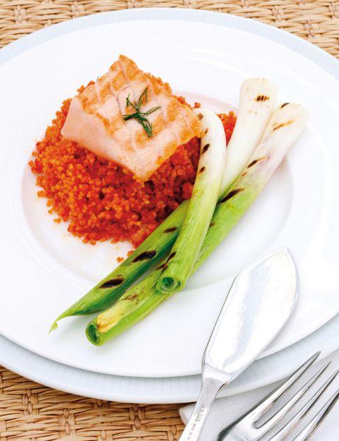 food, dishware, green, serveware, tableware, cuisine, plate, ingredient, dish, orange,
