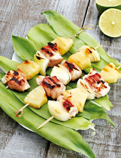Green, Food, Cuisine, Finger food, Leaf, Brochette, Citrus, Lemon, Ingredient, Skewer,