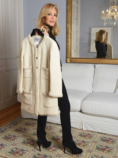 Clothing, Human, Human body, Sleeve, Textile, Outerwear, Coat, Flooring, Style, Floor,