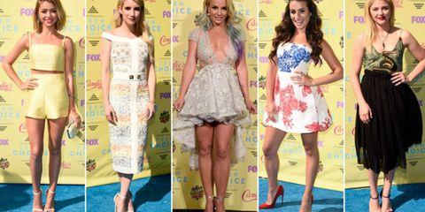 Clothing, Footwear, Leg, Dress, Flooring, Formal wear, Style, One-piece garment, Waist, Day dress,