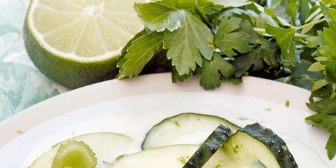 Food, Ingredient, Lemon, Citrus, Produce, Leaf vegetable, Dishware, Vegetable, Fines herbes, Sweet lemon,