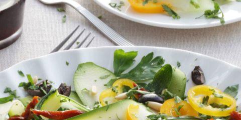 Food, Ingredient, Dishware, Salad, Serveware, Vegetable, Cuisine, Garden salad, Leaf vegetable, Recipe,