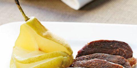 Food, Ingredient, Beef, Dishware, Tableware, Cuisine, Plate, Fruit, Pork, Kitchen utensil,