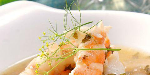 Food, Cuisine, Ingredient, Dish, Recipe, Dishware, Serveware, Garnish, Seafood, Peach,
