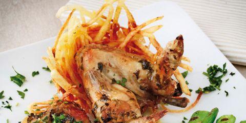 Food, Cuisine, Dishware, Ingredient, Tableware, Plate, Dish, Meat, Recipe, Fried food,