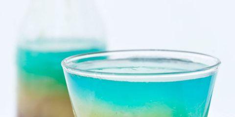 Glass, Green, Liquid, Purple, Colorfulness, Ingredient, Lavender, Teal, Magenta, Aqua,