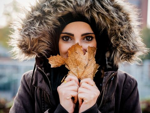 Human, Hairstyle, Jacket, Fashion, Natural material, Street fashion, Fur, Animal product, Portrait photography, Fur clothing,