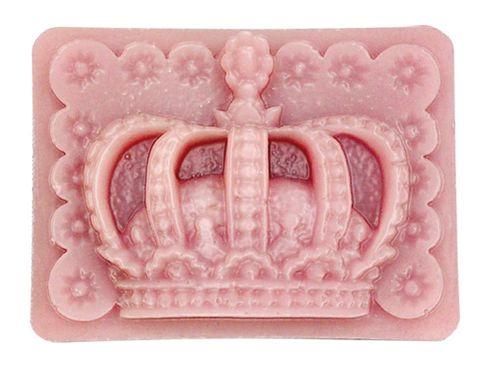 Pink, Pattern, Peach, Crown, Headpiece, Symbol,