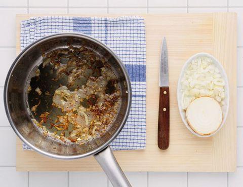 Food, Dishware, Kitchen utensil, Cutlery, Meal, Tableware, Recipe, Cuisine, Kitchen knife, Ingredient,