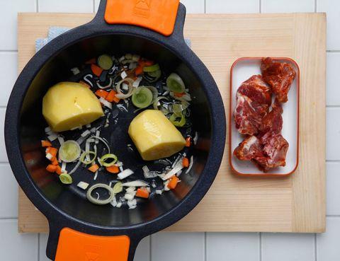 Food, Cuisine, Meal, Ingredient, Tableware, Orange, Dish, Recipe, Dishware, Bowl,