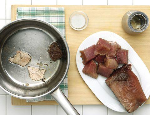 Food, Cuisine, Dish, Tableware, Dishware, Meat, Meal, Animal product, Beef, Ingredient,