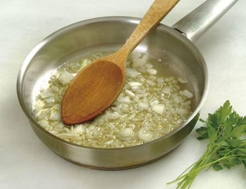 Food, Ingredient, Kitchen utensil, Spoon, Cutlery, Mixing bowl, Herb, Bowl, Cookware and bakeware, Serveware,