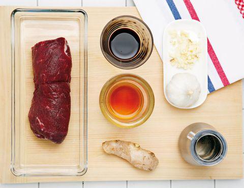Food, Ingredient, Cuisine, Dish, Lens, Meat, Camera lens, Red meat, Beef, Dishware,