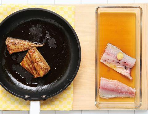 Food, Cuisine, Dish, Ingredient, Tableware, Animal product, Plate, Animal fat, Meal, Seafood,