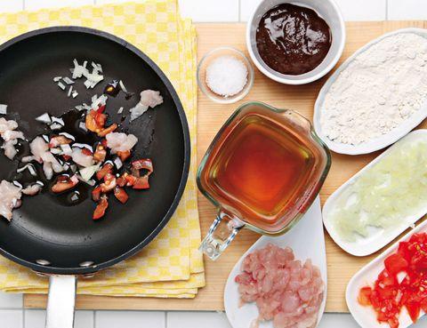 Food, Serveware, Dishware, Cuisine, Ingredient, Tableware, Bayonne ham, Prosciutto, Drink, Meal,