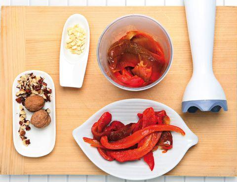 Food, Ingredient, Soup, Tableware, Cuisine, Dish, Kitchen utensil, Carmine, Recipe, Spoon,