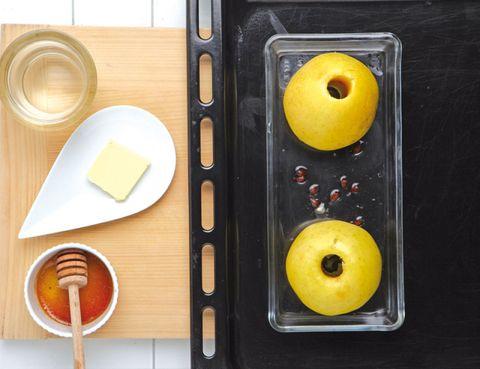 Yellow, Serveware, Food, Dishware, Kitchen utensil, Tableware, Fruit, Still life photography, Meal, Plate,