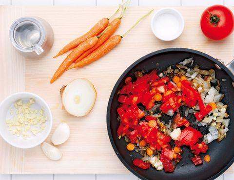 Food, Produce, Dishware, Ingredient, Meal, Tableware, Carrot, Root vegetable, Cuisine, Bowl,