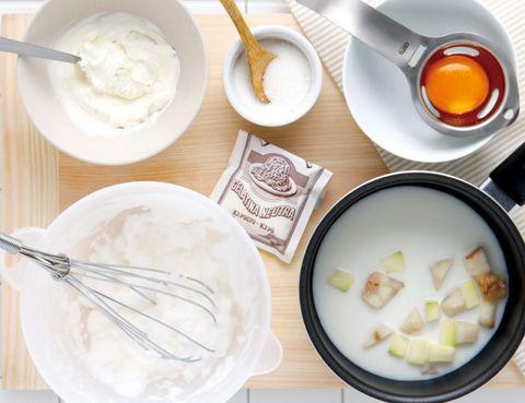 Dishware, Cuisine, Ingredient, Food, White, Serveware, Tableware, Kitchen utensil, Dish, Recipe,