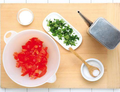 Food, Dishware, Ingredient, Tableware, Serveware, Leaf vegetable, Kitchen utensil, Table, Cuisine, Meal,
