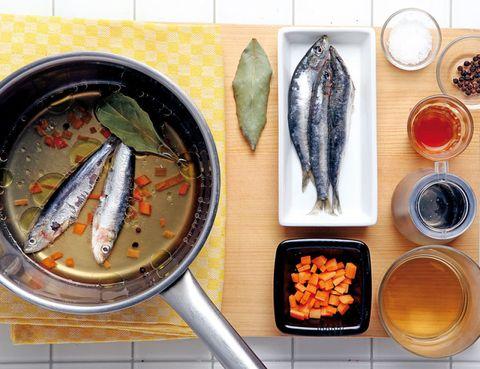 Food, Seafood, Tableware, Cuisine, Ingredient, Fish, Fish, Dish, Meal, Recipe,