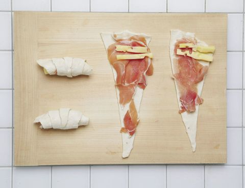 Food, Ingredient, Animal product, Meat, Cuisine, Animal fat, Pork, Bayonne ham, Peach, Salt-cured meat,