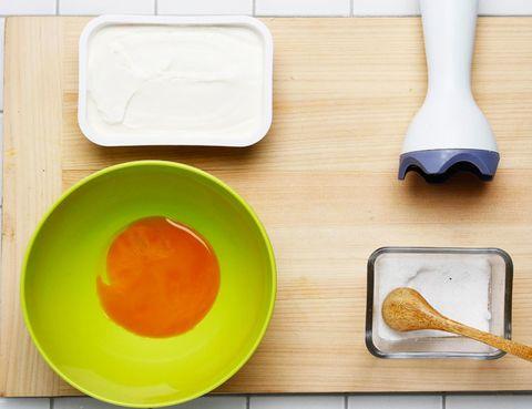 Serveware, Dishware, Kitchen utensil, Tool, Ingredient, Mixing bowl, Bowl, Plastic, Paint, Kitchen knife,