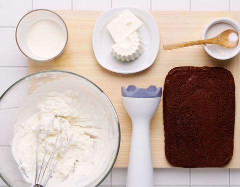 Food, Ingredient, Dishware, Kitchen utensil, Cutlery, Spoon, Serveware, Dairy, Powder, Finger food,