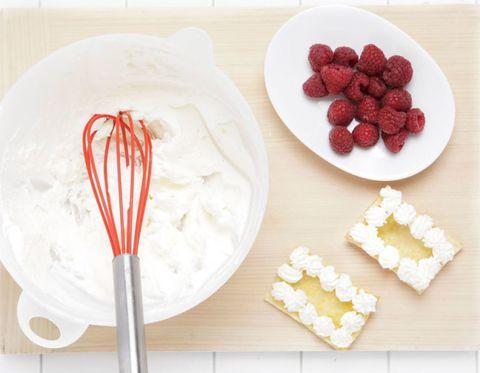 Food, Dishware, Sweetness, Ingredient, Whisk, Cuisine, Tableware, Kitchen utensil, Fruit, Serveware,