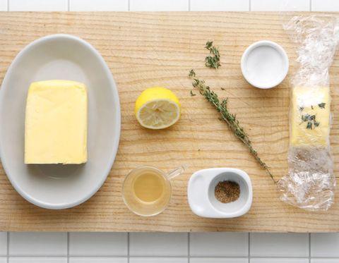 Food, Yellow, Ingredient, Dishware, Serveware, Cheese, Dairy, Lemon, Citrus, Kitchen utensil,