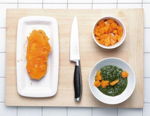 Food, Dishware, Ingredient, Tableware, Orange, Produce, Cuisine, Vegetable, Vegan nutrition, Leaf vegetable,