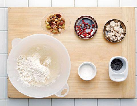 Food, Ingredient, Cuisine, Bowl, Flour, Dishware, Powder, Serveware, Mixing bowl, Meal,