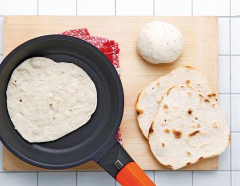 Food, Cuisine, Flatbread, Ingredient, Dish, Condiment, Tortilla, Chapati, Recipe, Dip,