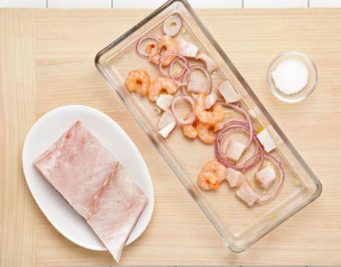 Wood, Food, Ingredient, Peach, Cuisine, Serveware, Animal product, Animal fat, Dish, Hardwood,