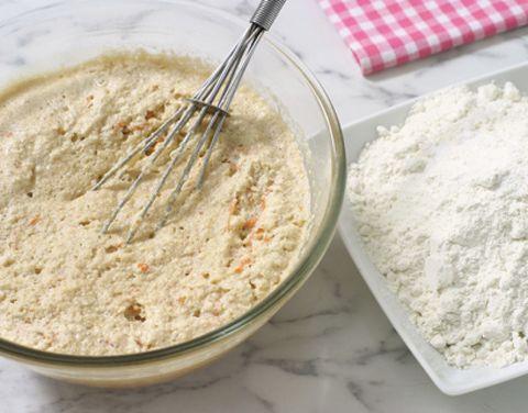 Food, Ingredient, Whisk, Kitchen utensil, Paste, Recipe, Cuisine, Powder, Batter, Tartan,
