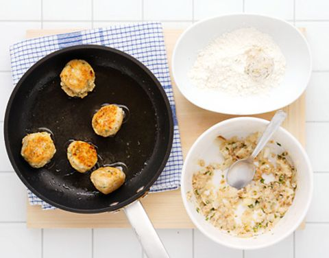 Food, Ingredient, Cuisine, Dish, Cooking, Recipe, Frying pan, Cookware and bakeware, Plate, Pan frying,