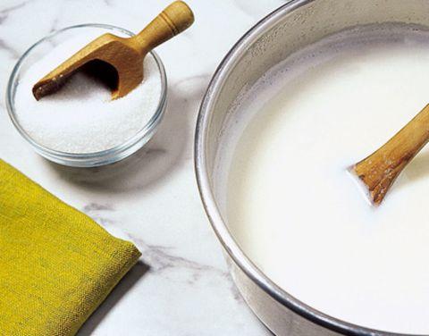 Ingredient, Drink, Hammer, Dairy, Kitchen utensil, Hand tool, Plant milk, Chemical compound, Rice milk, Recipe,