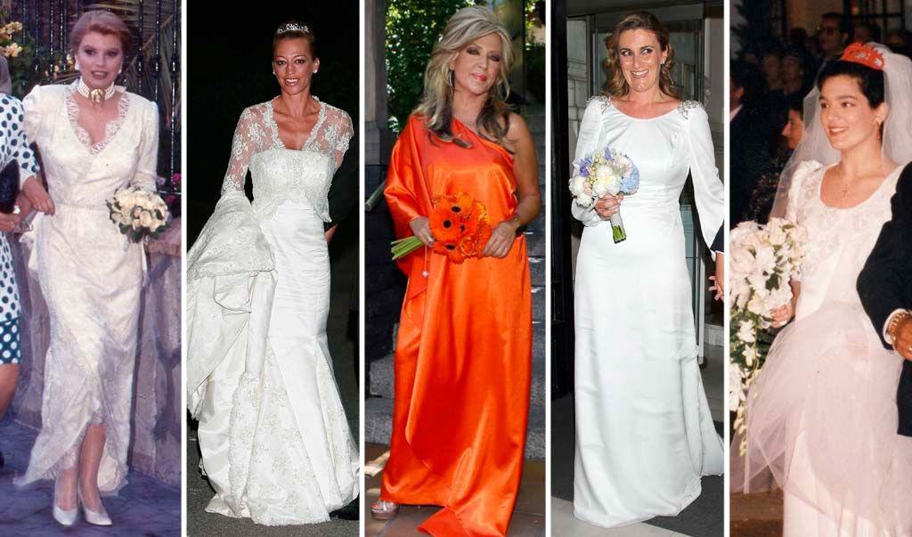desarchivamos las bodas de ayer: la verdadera 'bridal week' de sálvame