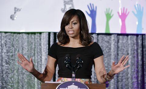 Arm, Hand, Wrist, Public speaking, Fashion accessory, Podium, Watch, Speech, Spokesperson, Gesture,