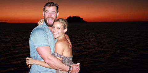 Elsa Pataky y Chris Hemsworth disfrutan de sus idílicas vacaciones