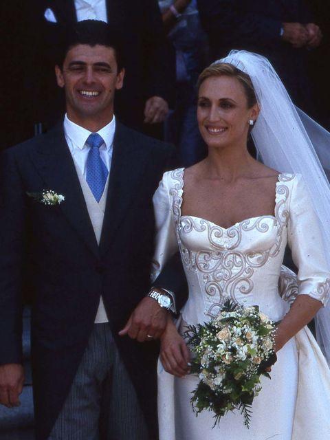 desarchivamos las bodas de ayer: cristina sánchez y alejandro da silva