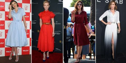 Clothing, Dress, Shoulder, Red, Outerwear, Formal wear, Flooring, Coat, Style, Fashion,