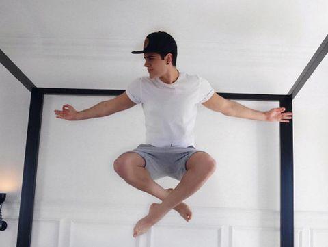 Cap, Finger, Human leg, Elbow, Shoulder, Standing, Hand, Joint, Wrist, Knee,